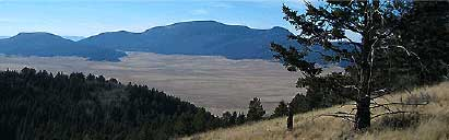 Горы Джемез (Jemez Mountains)