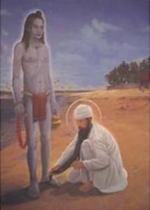 Баба Сири Чанд и Гуру Рамдас