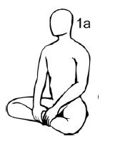 Крийя спинальных энергий, упражнение 1