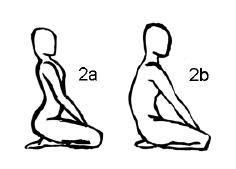 Крийя спинальных энергий, упражнение 2