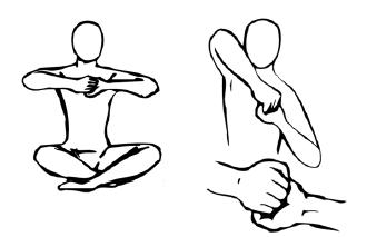 Крийя спинальных энергий, упражнение 4