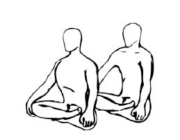 Крийя спинальных энергий, упражнение 5
