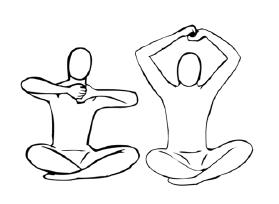 Крийя спинальных энергий, упражнение 8